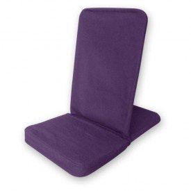 FOLDING BACKJACK. purple - Bodenstuhl faltbar