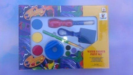 Kreativ-Set Fingerfarbe oder Wasserfarbe