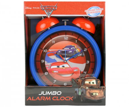 Jumbo Wecker mit Alarmfunktion 24x9x31cm