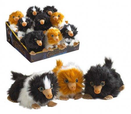 Phantastische Tierwesen 2 Plüschfiguren Baby Nifflers 15 cm Display (9)