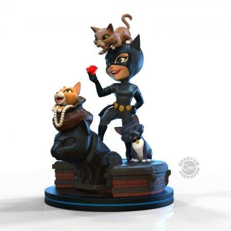 DC Comics Q-Fig Elite Figur Catwoman 12 cm