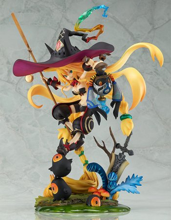 The Witch and the Hundred Knight Statue 1/8 Swamp Witch Metallica 20 cm