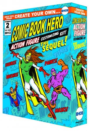 Create Your Own Comic Book Hero Action Figure Modellbausatz The Sequel Previews Exclusive