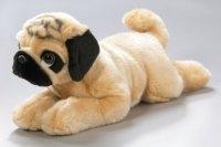 Mops, Bulldogge liegend 35 cm