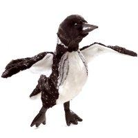 Handpuppe Seetaucher Vogel