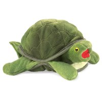 Handpuppe Kleine Schildkröte 25 cm