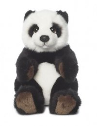WWF Plüschtier Panda sitzend 15cm