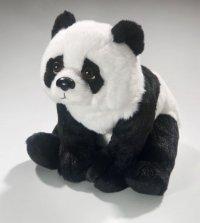 Panda Bär sitzend 26 cm