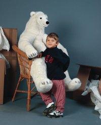 Kösener Eisbär 130cm Plüschtier