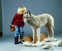 Kösener Wolf 124cm Plüschtier