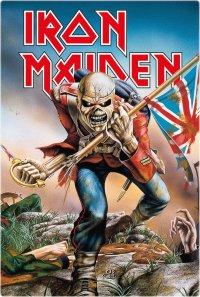 Iron Maiden Blechschild Trooper 20 x 30 cm