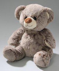 Bär sitzend braun 25 cm superweich