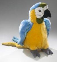 Papagei Blue Macau 27 cm