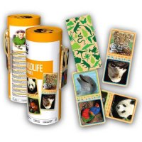 WWF Domino Wildtiere (28 Holzteile)