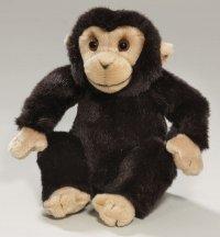 Schimpanse sitzend 17 cm