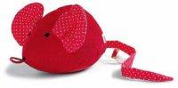 Silke-Maus rot -mit Spieluhr