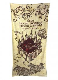 Harry Potter Handtuch Marauder's Map 150 x 75 cm