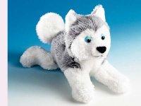 Magnet Schlittenhund Husky ca. 12 cm