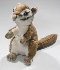 Eichhörnchen, Streifenhörnchen samtweich 17 cm