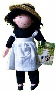 Puppe Linnea mit Schürze 15 cm