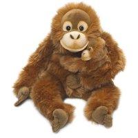 WWF Orang Utan mit Baby 25cm