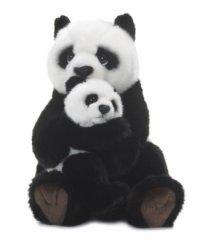 WWF Panda mit Baby 28cm