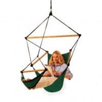 Sky-Chair Hängesessel - waldgrün