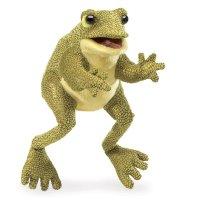 Handpuppe-Lustiger Frosch
