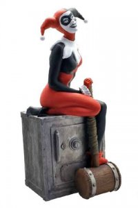 DC Comics Spardose Harley Quinn 27 cm