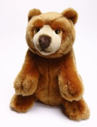 Blickfänger - Braun-Bär sitzend 31 cm  Ich schau Dich immer an!