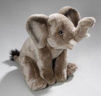 Elefant sitzend 25 cm