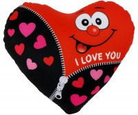 Herzkissen I Love You 23 cm