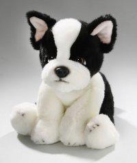 Französische Bulldogge sitzend 24 cm