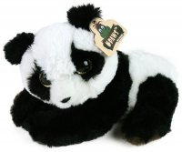 Plüsch Panda liegend 21cm