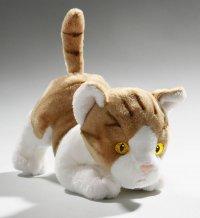 Katze hellbraun 18 cm