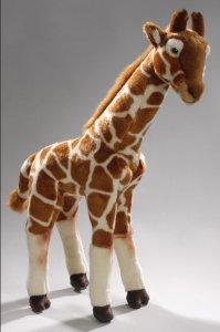 Giraffe stehend 46 cm 30 cm lang