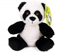 Plüsch Panda sitzend 18cm