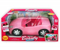 Auto rosa 33 cm