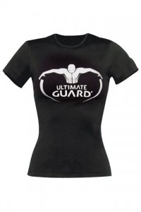 Ultimate Guard Girlie T-Shirt Logo Schwarz