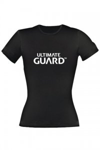 Ultimate Guard Girlie T-Shirt Wordmark Schwarz