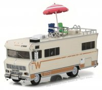 Walking Dead Diecast Modell 1/64 Dale's 1973 Winnebago Chieftain with Umbrella