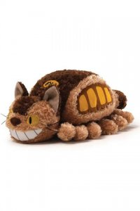 Studio Ghibli Plüschfigur Little Fluffy Cat Bus 20 cm