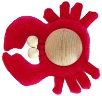Silke-Krabbe rot