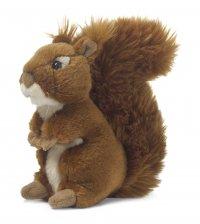 WWF Plüschtier Eichhörnchen 15 cm sitzend