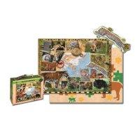 WWF Kinderpuzzle Raubkatzen (48 Teile)