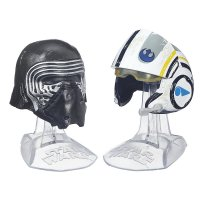 2er Set Star Wars DC Black Series Die Cast Helme
