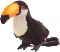 Plüsch Papagei 23cm  3-fach sortiert
