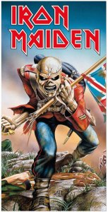 Iron Maiden Handtuch Trooper 150 x 75 cm