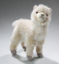 Alpaka stehend 21 cm