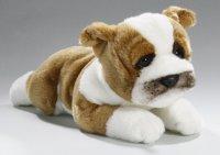 Bulldogge liegend 25 cm